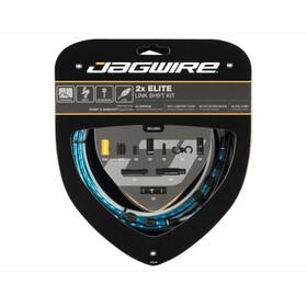 Jagwire 2X Elite Link Schakelkabel Set, blauw